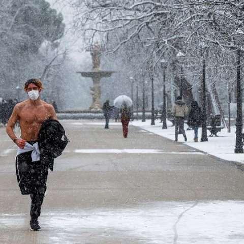 Temporal de nieve  España efe