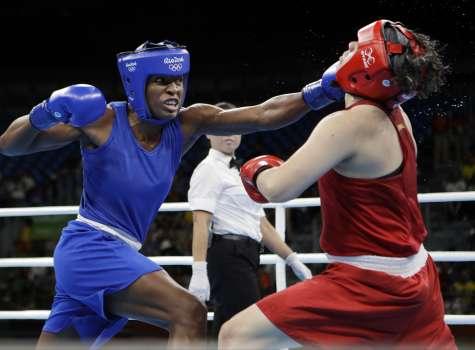 Atheyna Bylon (izq.) participará en sus segundos juegos olímpicos.