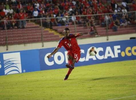 Yoel Bárcenas, volante de la selección de Panamá. /EFE