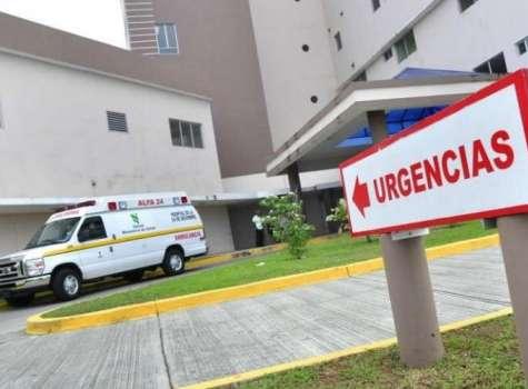Vista general de la entrada de acceso al área de urgencias del hospital del Este. Foto: Archivo