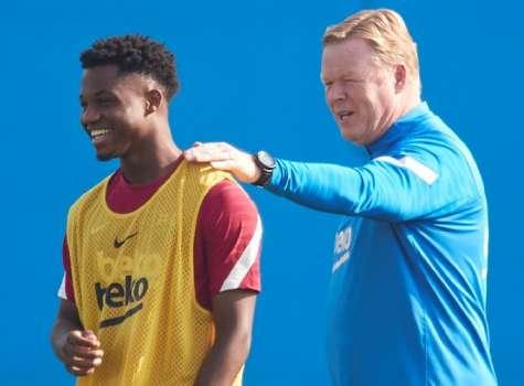 Ronald Koeman, técnico del FC Barcelona. Foto:EFE