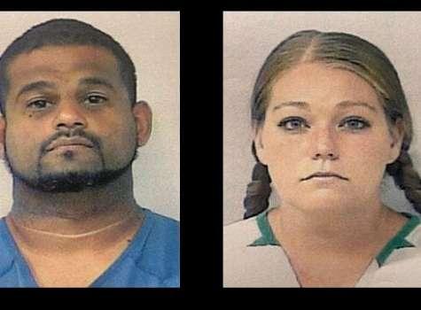 Óscar Torres, de 40 años, y su esposa Brittany Kirschenhofer, de 32 años,.