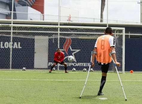 Panamá cuenta con una liga de fútbol para amputados desde el 2018. Foto / Amputadospty507