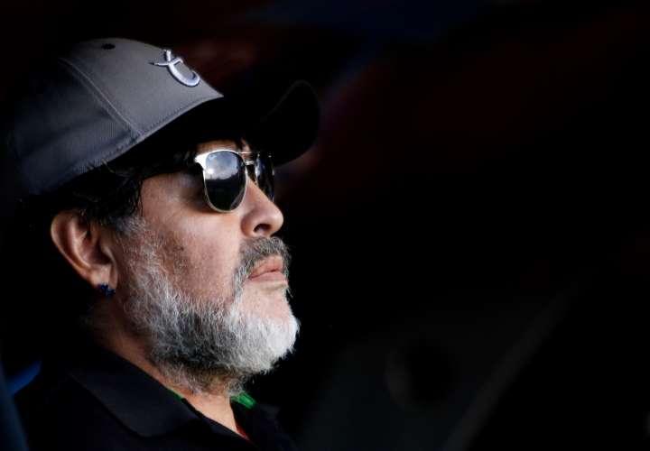 Diego Maradona, ex capitán de la selección argentina. /EFE
