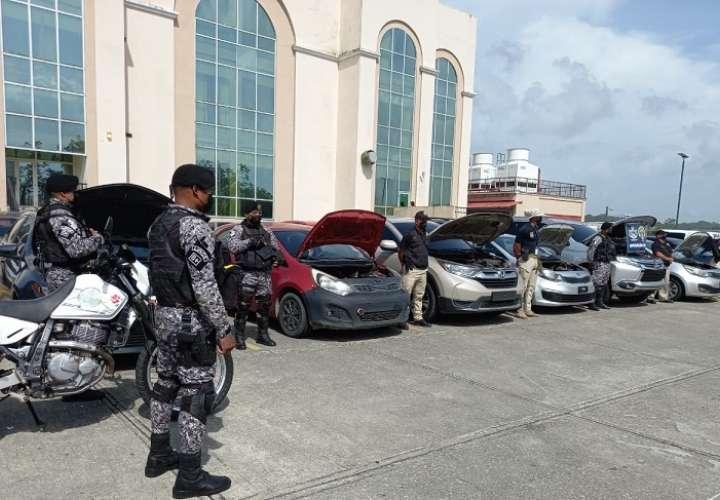En esta acción participaron aparte del personal del MP, unidades de la Policía Nacional y la Autoridad Nacional de aduanas.