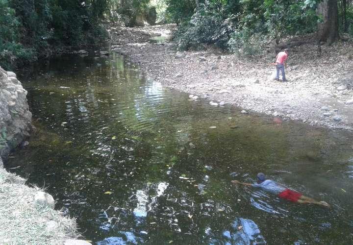 Preocupación por bajo nivel de los ríos