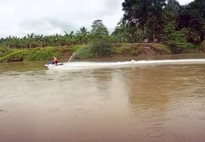 El cuerpo fue ubicado el domingo en horas de la madrugada 13 kilómetros aguas a bajo de donde se había reportado su desaparición.