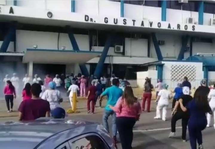 Personal de policlínica baila Jerusalema (Video)
