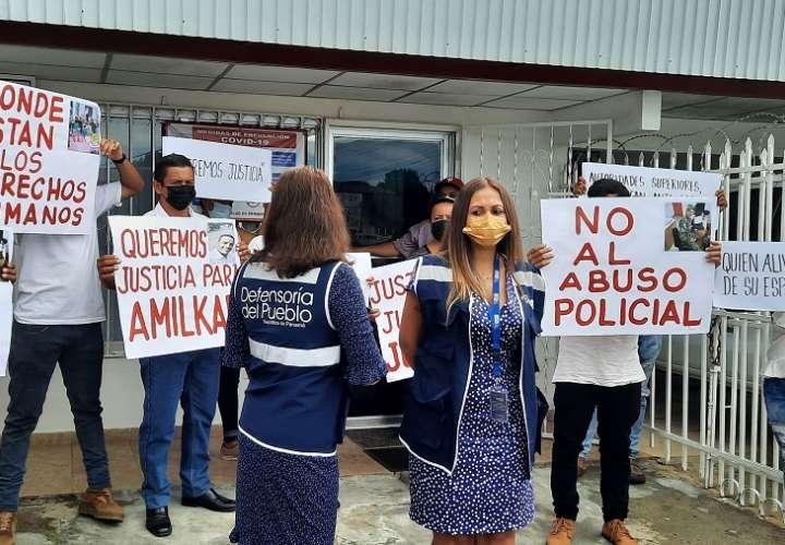 Familiares del cabo del Senafront que falleció en Veraguas exigen justicia