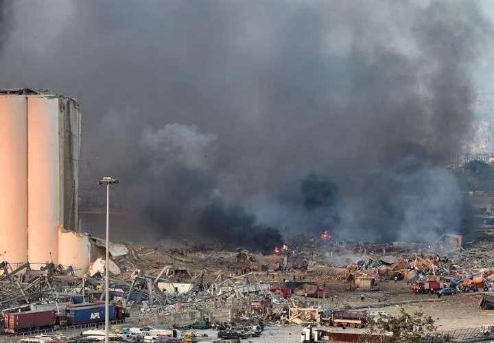 """""""Innumerable"""" número de heridos por explosión en el puerto de Beirut (Video)"""