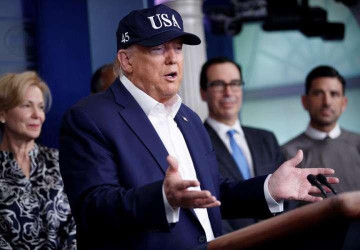Trump se hace la prueba del coronavirus y está a la espera de resultados