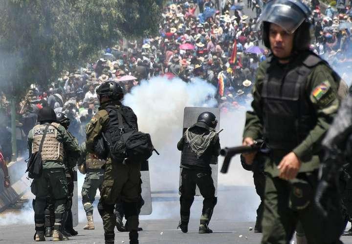 Evo Morales pide a todas las partes que cese la violencia en Bolivia