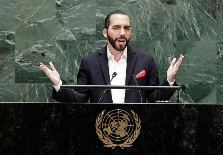 Presidente de El Salvador dijo que la ONU está obsoleta, pide una actualización
