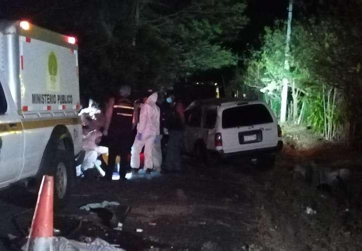 Cumpleaños fatal: Una mujer muere y tres hermanas heridas deja vuelco en Chame