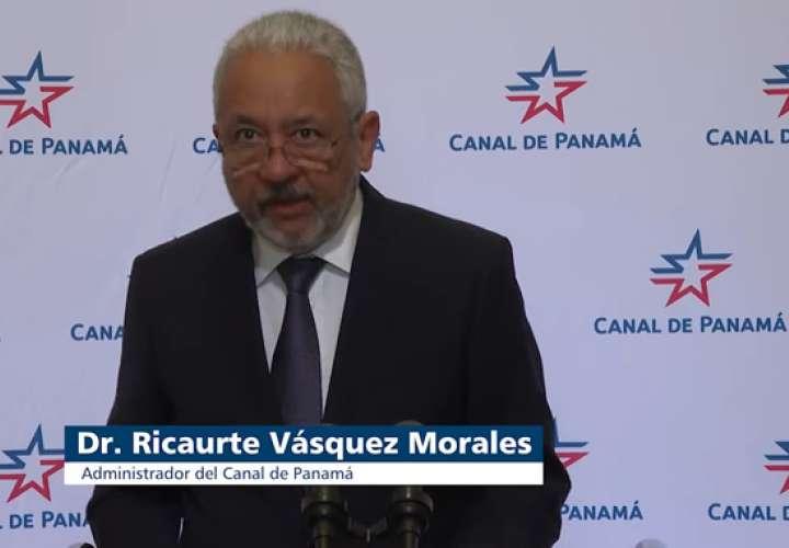 Dr. Ricaurte Vasquez Morales, administrador del Canal de Panamá.