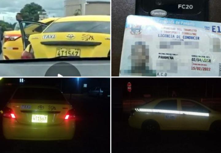 Atrapan a taxista que agredió con un machete a colega