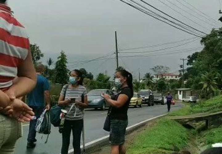 ¿Quién los ayuda?.  Arraijaneños salen a la calle por falta de agua [Video]