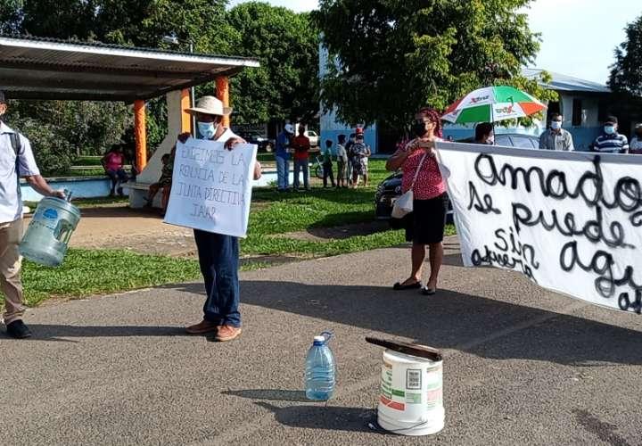 Residentes de Amador protestan por falta de agua hace varios meses  [Video]