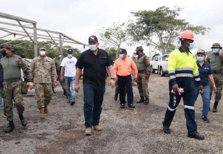 Nuevo albergue para migrantes en Darién tiene 90% de avance