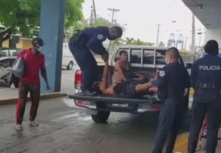 Los heridos se encuentran en condición estable en el complejo hospitalario de Colón.
