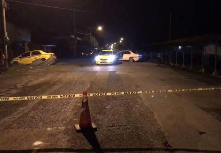 Ataque armado, colisión y escape en Changuinola deja un herido