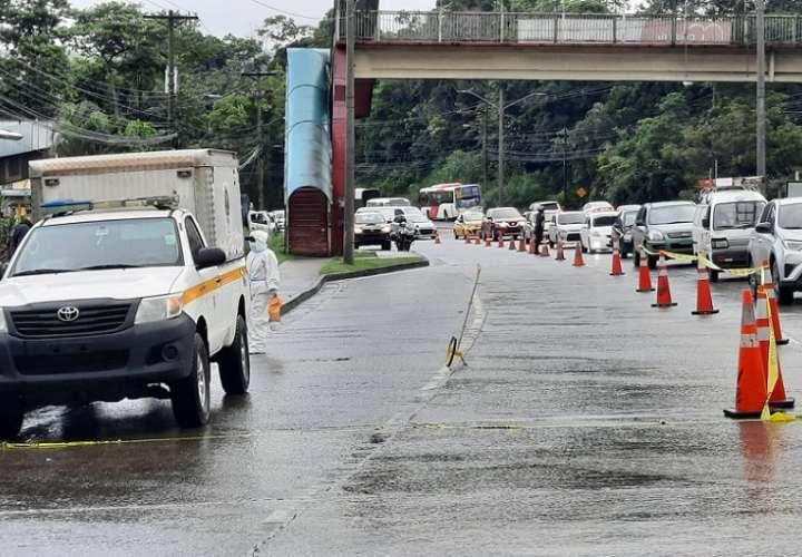 La víctima falleció en la escena del accidente. Foto: TNP Live