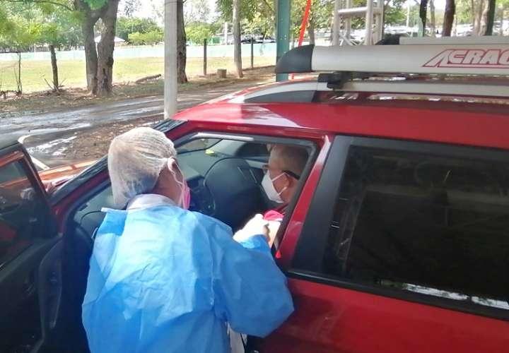 Se trata de la primera vacunación masiva para moradores de las provincias de Herrera y Los Santos.