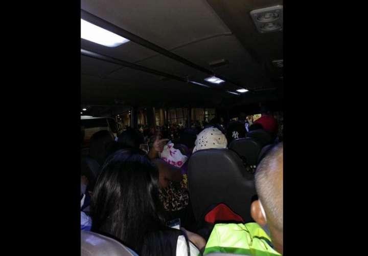 Autobús de ruta interna de Vista Alegre.