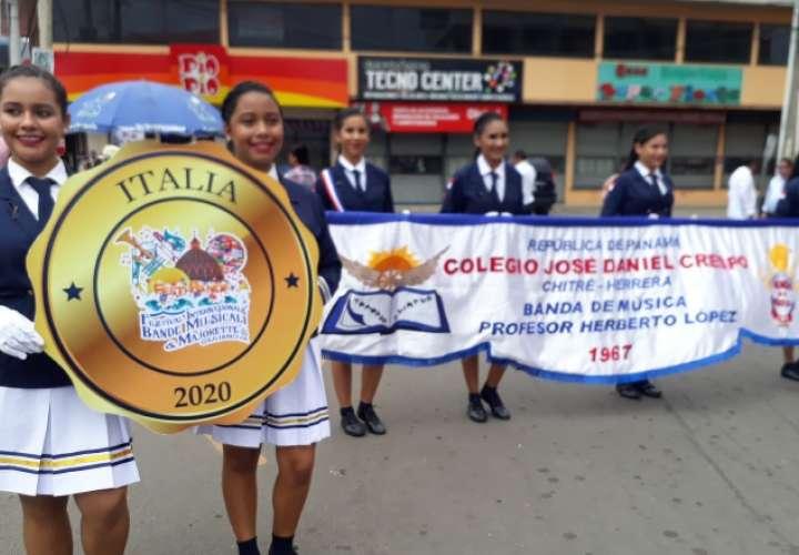 Banda del colegio José Daniel Crespo coordina presentación con el papa Francisco