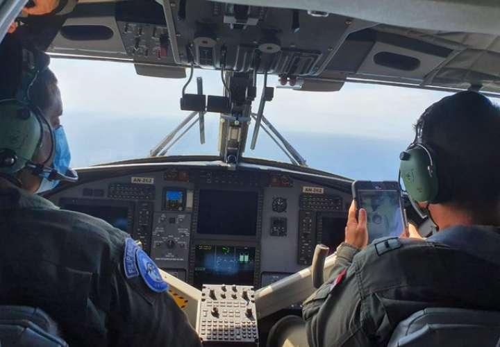Buscan a unidad del Senan que cayó al mar en la Bahía de Parita  [Video]