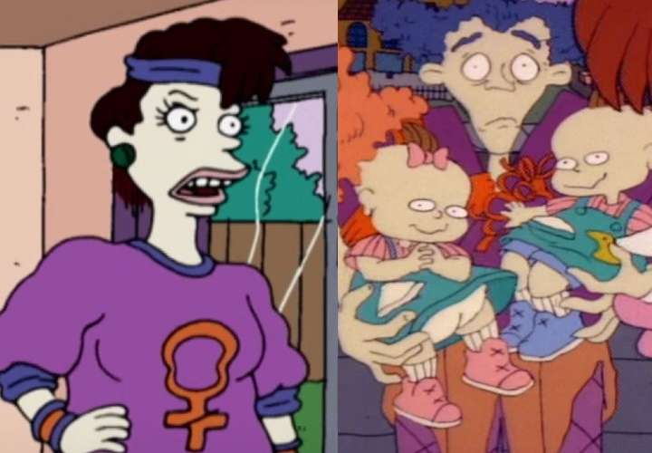 ¡Polémica! Betty, la mamá de los gemelos en Rugrats, ahora es lesbiana