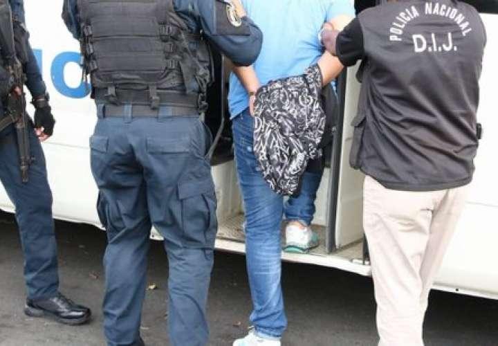 Detienen a pandilleros y otros por diversos delitos en Boca La Caja y Oeste