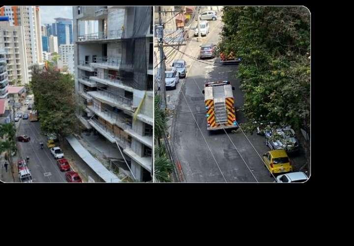 ¡Tristeza! Obrero cae al vacío desde el piso 19