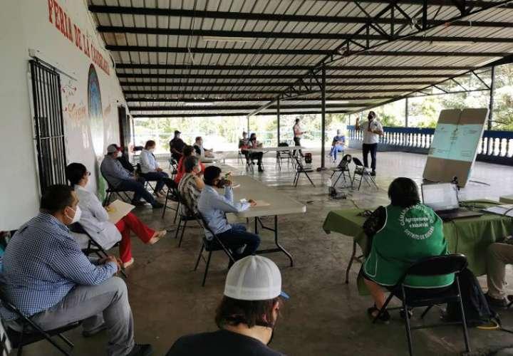 Empresarios ofrecen instalaciones de la Feria de Bugaba para albergue