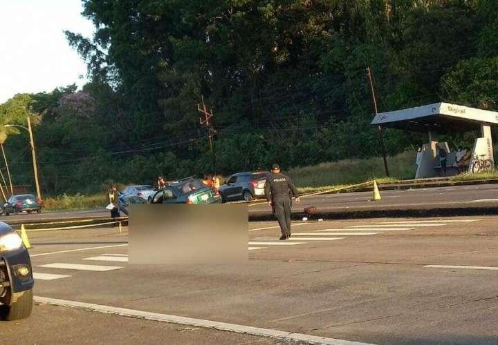 Mujer muere atropellada en Chiriquí