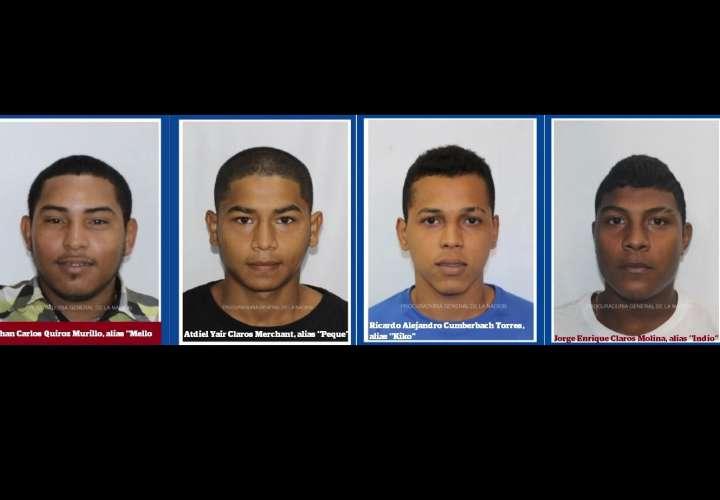 """Buscan a """"Mello"""", """"Peque"""", """"Indio"""" y """"Kiko"""" por crimen en San Miguel"""
