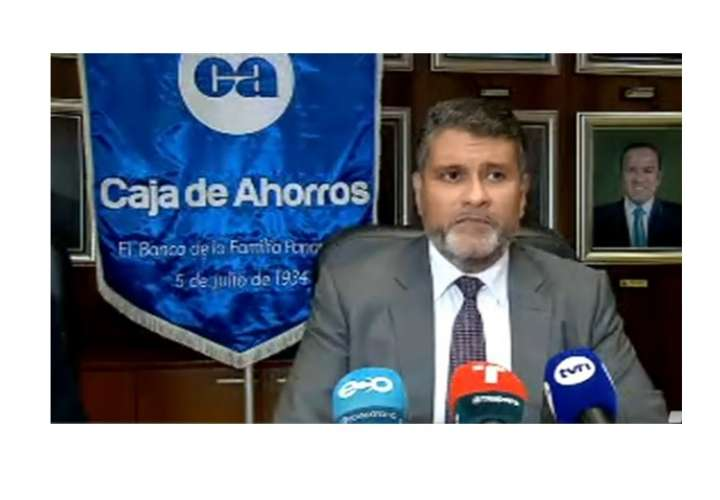 Gerente de Caja de Ahorros pone cargo a disposición y anuncia denuncias civiles