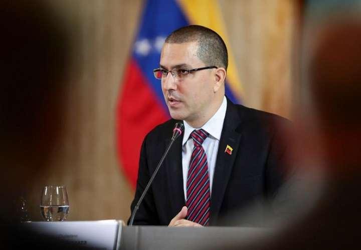 En la imagen, el canciller de Venezuela, Jorge Arreaza. EFE