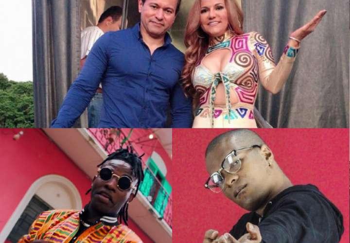 Demencia y mucho desorden en las tarimas del Carnaval capitalino