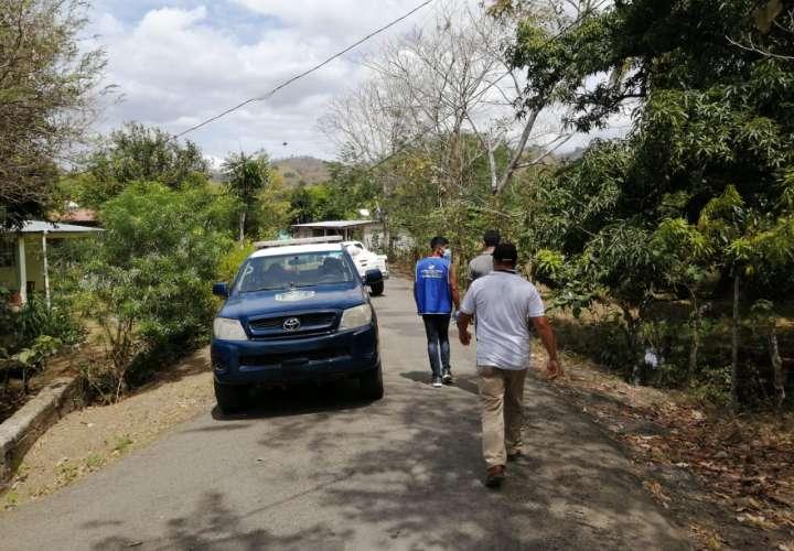 Instalan cerco sanitario en Flores de Tonosí por incremento de casos Covid-19