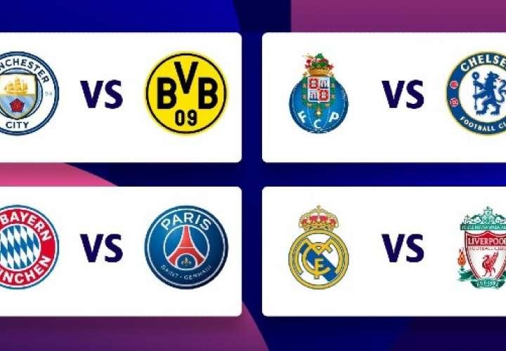 Choques de alto nivel en cuartos de final de la Liga de Campeones de la UEFA