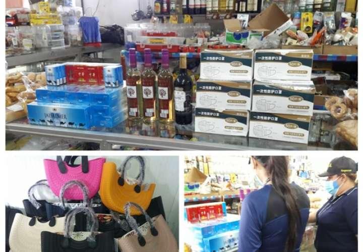 Detectan licores y cigarrillos de contrabando en comercios de Churuquita Grande