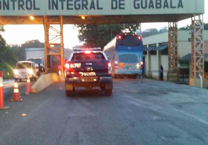 Menor viajaba en bus de Guabalá.