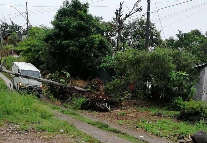 Panamá Oeste, otra zona afectada por lluvia