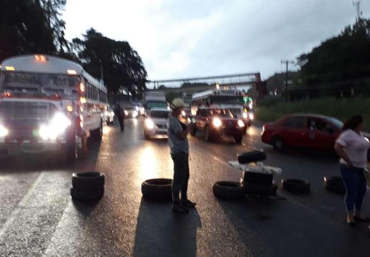 Protesta en Río Rita por orden de desalojo