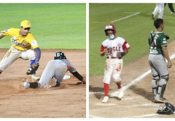Herrera y Coclé parten por delante en las Semifinales del Béisbol Juvenil