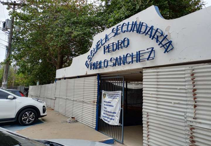 Los trabajos en el colegio Pedro Pablo Sánchez iniciaron a finales del 2019, pero se vieron retrasados por la pandemia.