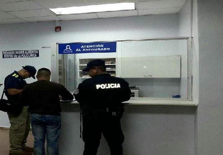 El herido fue estabilizado y se coordinó su traslado al Complejo Hospitalario Dr. Manuel Amador Guerrero.