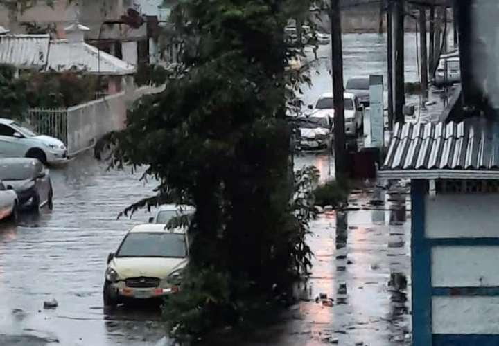 Lunes de aguacero deja afectaciones en Panamá, Colón y otros puntos del país