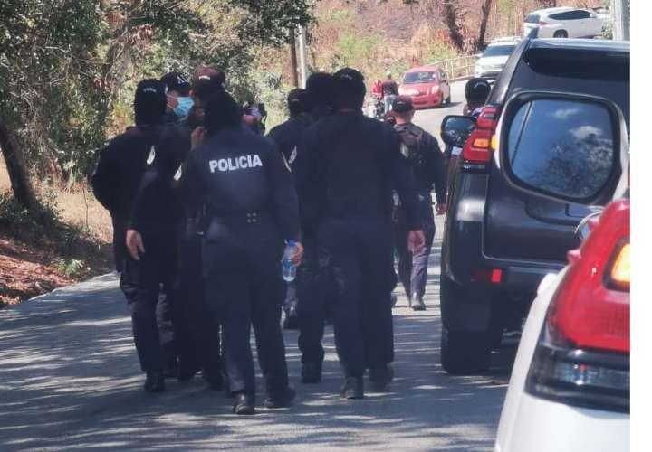 5 aprehendidos y armas en intento de secuestro del hermano de Nito Cortizo